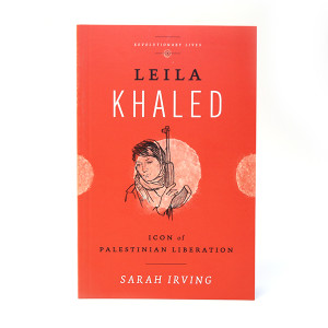 Leila Khaled Book cover front