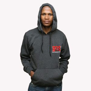 FREE PALESTINE DARK GREY WINTER HOODIES front 2