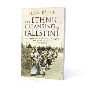 THE ETHNIC CLEANSING OF PALESTINE book cover front