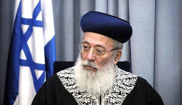Israel's Chief Rabbi calls black people 'monkeys' - BDS